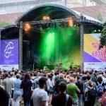 Rundbogenbühne 650 Jahr Feier Uni Wien